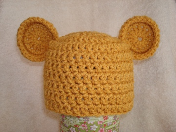 Pooh-Inspired Hat