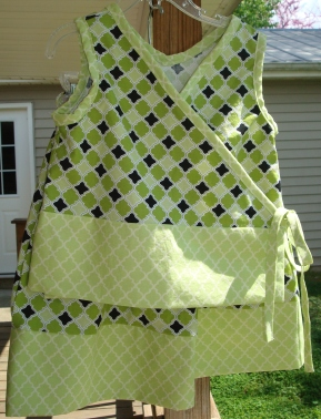 Girl's Wrap Top and Skirt