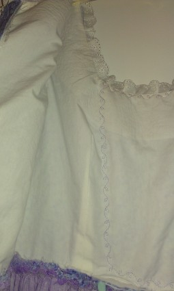Inside the bodice