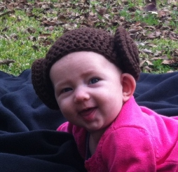 Princess Leia Hat - Amie R. Used with Permission.