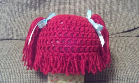 Cabbage Patch-Inspired Hat