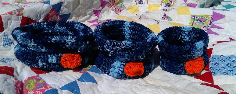 Finn the Goldfish Nesting Baskets