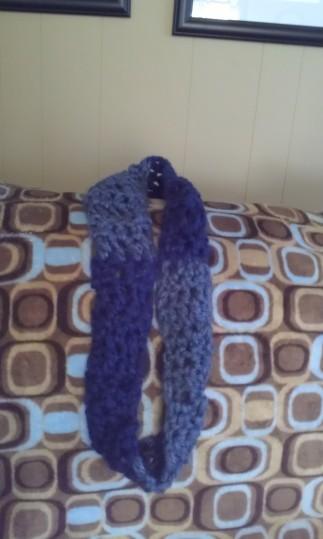 Finger Crochet Scarf