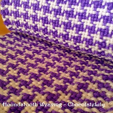 How to Weave the Houndstooth Pattern – Lili & Mum\'s