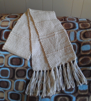 Natural Woven Scarf