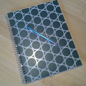 meal planning notebook