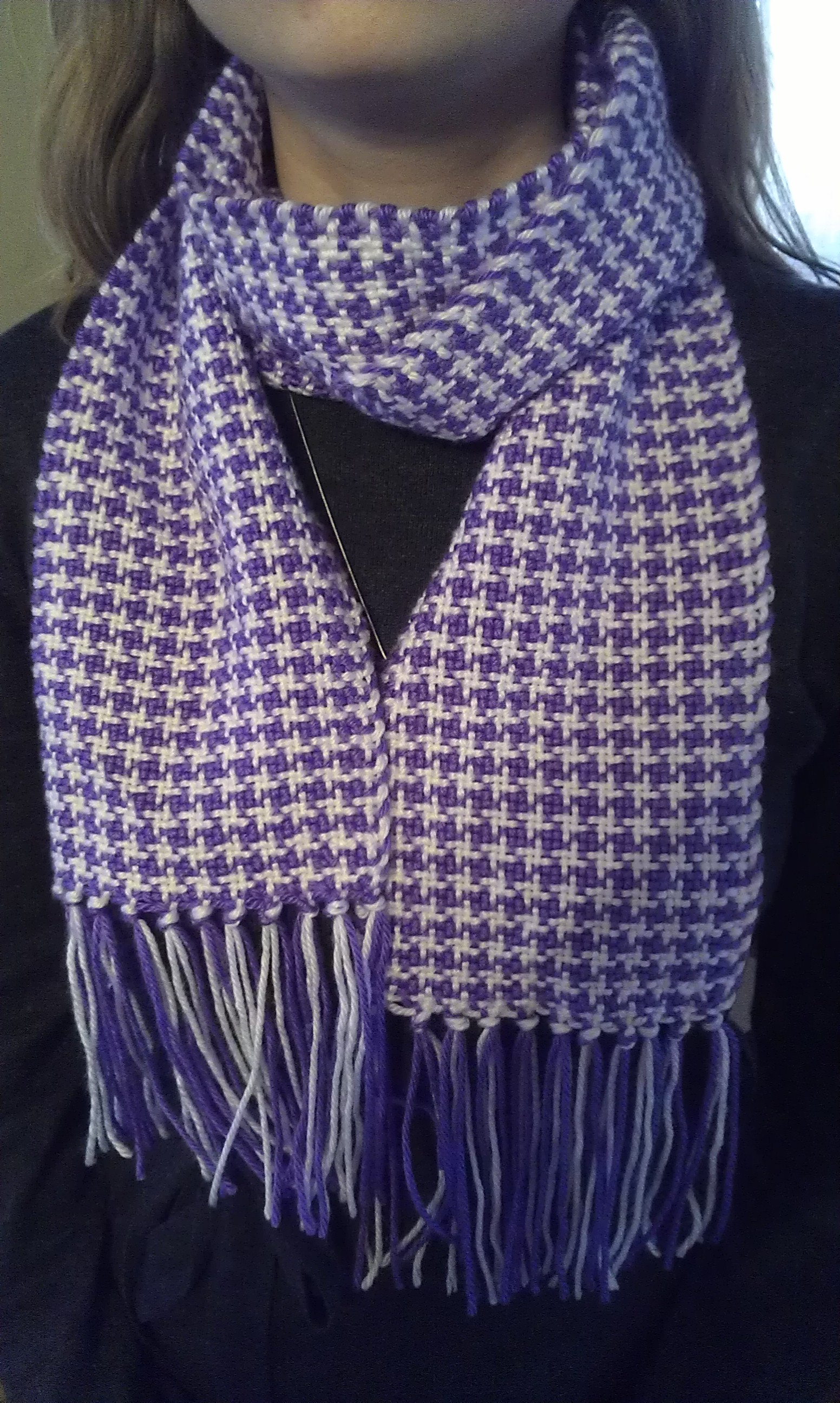 How To Weave The Houndstooth Pattern Lili Amp Mum S