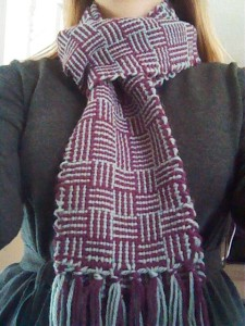 Log Cabin Scarf