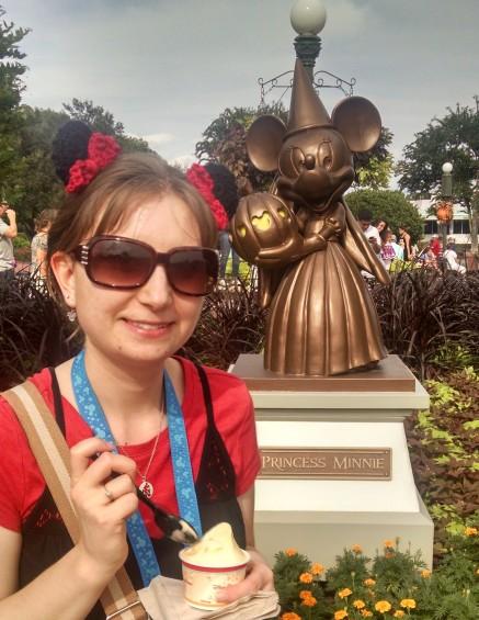 Minnie Ear Hair Clips