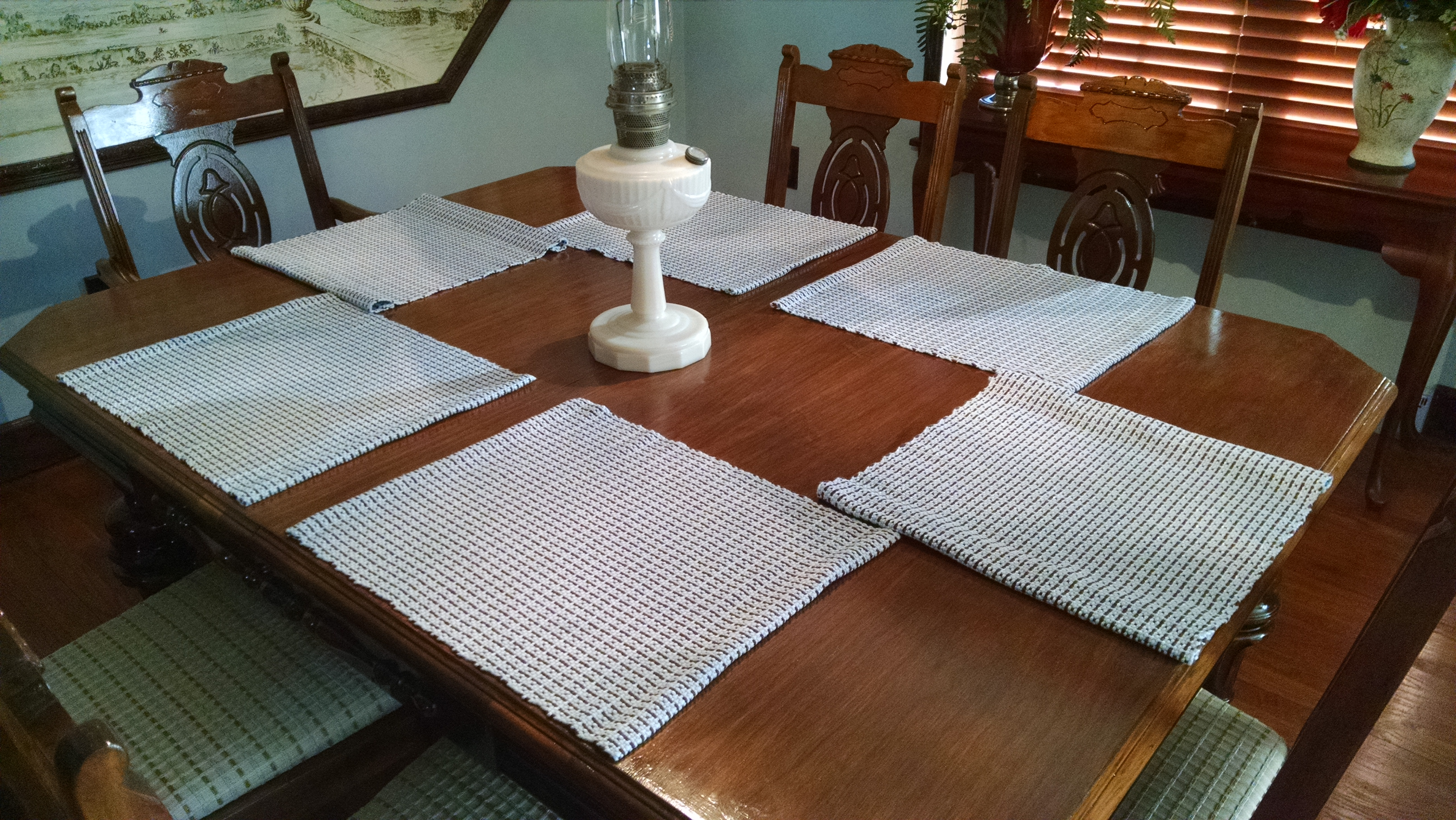 Christmas Gift Handwoven Placemats – Lili & Mum s