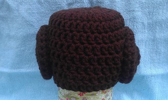 Leia-Inspired Hat